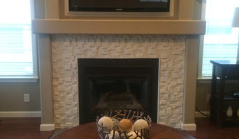 Northern Kentucky fireplace surround