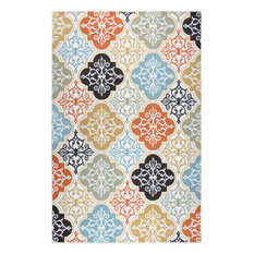 """Rizzy Xpression XP6888 1'6"""" Sample Ivory Rug"""