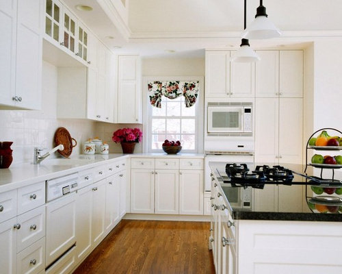 White Shaker Kitchen Cabinets Ideas, Pictures, Remodel and Decor