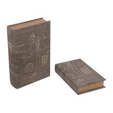 Privilege International Book Boxes, 2-Piece Set