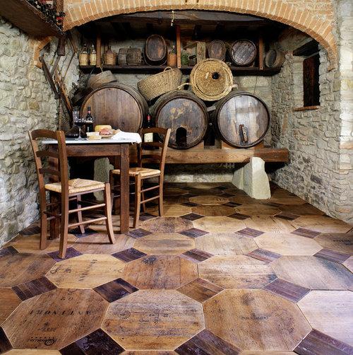 Tuscan Hardwood Floors Made Of Re, Wine Barrel Laminate Flooring
