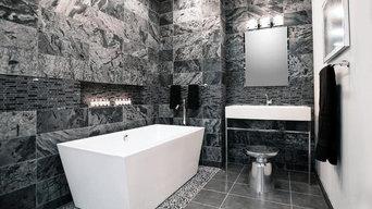 Quartzite in Bathroom