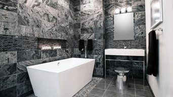 Quartzite in Bathroom