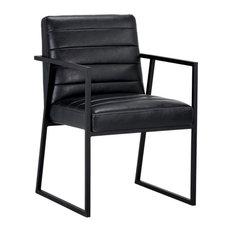 Spyros Dining Armchair Coal Black