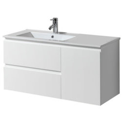 Simple Bathroom Vanities And Sink Consoles by Aquamoon