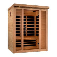 "Dynamic ""Porto"" 3-person Low EMF Far Infrared Sauna"