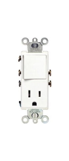 outlets with integrated switches