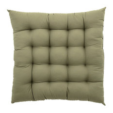 Padded Seat Cushion, Leaf Green
