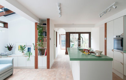 Houzz Tour: A Petite Flat is Made Fit for a Family of Four