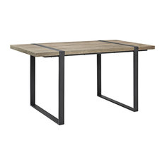 60-inch Urban Blend Wood Dining Table Driftwood
