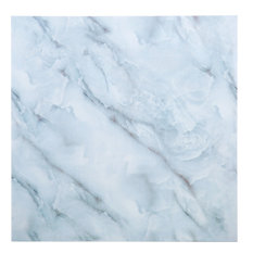 """11.8x11.8"""" Marble IV Peel and Stick Wall Tile, White Marble, Set of 12"""