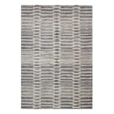 Bashian Princeton Area Rug, Gray, 3.6'x5.6'
