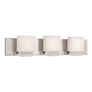 """Modern Forms Fusion LED Bath and Wall Light, 28"""""""