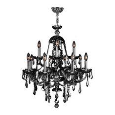 Italian chandeliers houzz crystal lighting palace venetian italian style 12 light crystal chrome finish chandelier aloadofball Choice Image