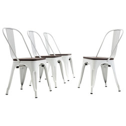 Industrial Dining Chairs by OneBigOutlet