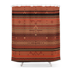 Thinking Of An Old Rug Shower Curtain