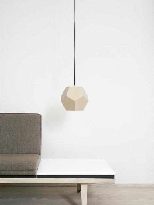 Dode – 12 femkanter i lys linoleum - Pendler