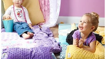 janiebee Quilted Nap Mats