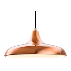 Curtis Pendant Light, Brushed Copper