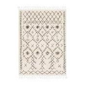 "Godalming Moroccan Tassel Shag Area Rug, 5'3""x7'3"" Rectangle"