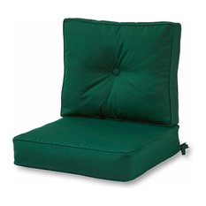 Clarion Sunbrella Cushion Set, Forest Green