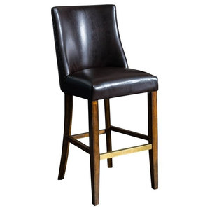 Fabulous Austria Navy Linen Barstool Transitional Bar Stools And Unemploymentrelief Wooden Chair Designs For Living Room Unemploymentrelieforg