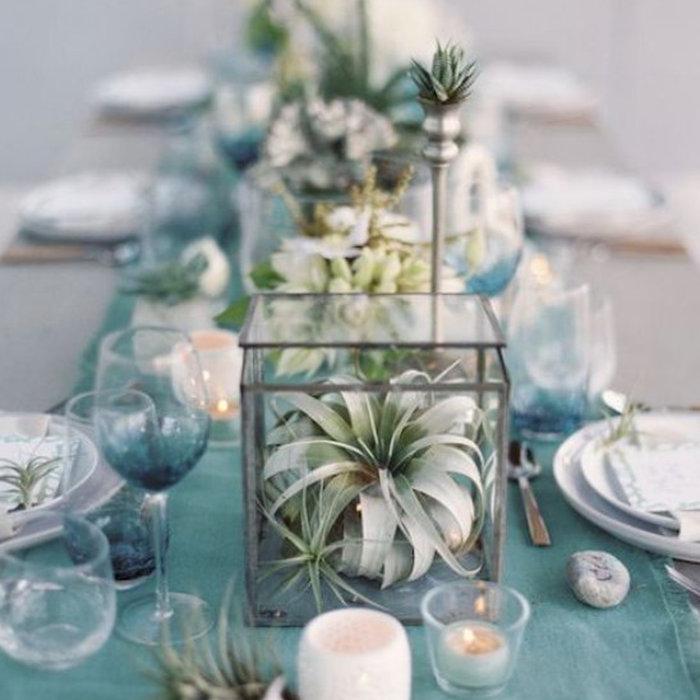 Mariage bleu, la couleur du porte-bonheur, fidélité, sagesse et foi