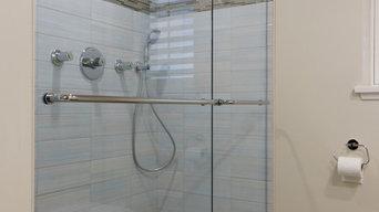 Bathroom interior photography for website display