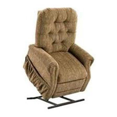 Med Lift Three-Way Reclining Lift Chair Wide, Bromley, Cobblestone