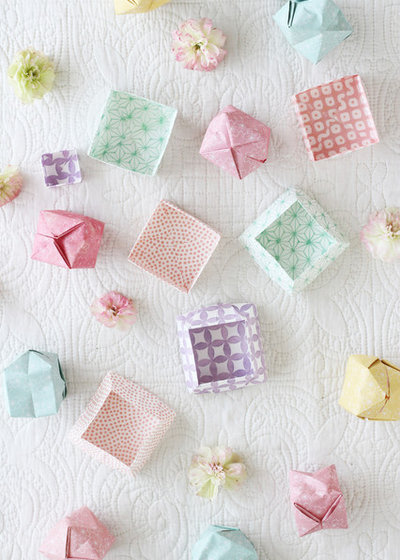 How To Make An Origami Box Out Of Paper Houzz