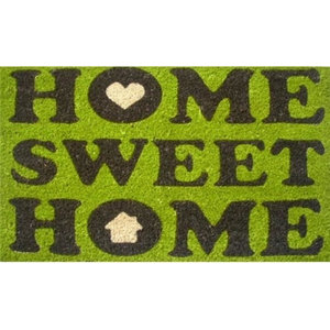 """Home and More 12014 17"""" Home Sweet Home Floor Mat, 100% Coir and Vinyl"""