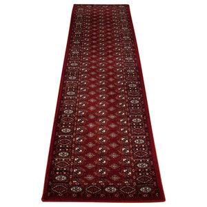 Wool Classic 537R Runner, Red, 68x235 cm