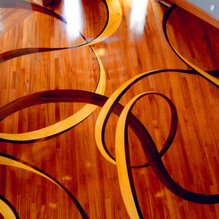 Sapele Custom Ribbon - Salt Lake City