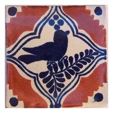 4.2x4.2 9 pcs Colonial Bird Talavera Mexican Tile
