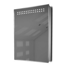 Color-Changing Mirrored Medicine Cabinet With Shaver Socket, Without Speakers