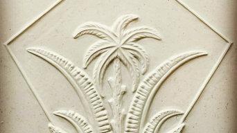 Deco Palm Relief