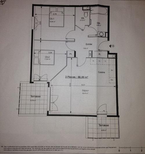 Aménager un salon/salle à manger/cuisine 29m2