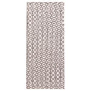 Eye Woven Vinyl Floor Cloth, Pink, 150x250 cm