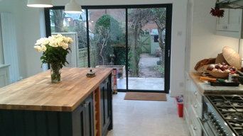 HAND PAINTED KITCHEN CABINETS IN WINCHESTER