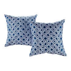 Modway Outdoor Throw Pillows, Set of 2, Balance