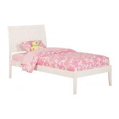 Portland Bed, White, Twin XL
