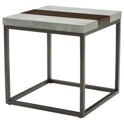 Industrial Side Tables And End Tables by Emerald Home