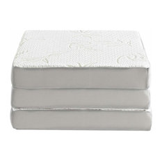 "Relax Gel 4"" Memory Foam Tri-Fold Mattress, 25""x75"""
