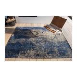 Mad Men Cracks 8629 Abyss Blue Rectangle Modern Rug 230x330cm
