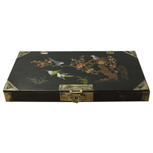 Swell Chinese Tibetan Floral Yellow Green Wood Trunk Bench Table Pdpeps Interior Chair Design Pdpepsorg