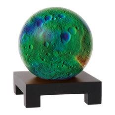 "MOVA 6"" Vesta Revolving Globe With Square Black Wood Base"