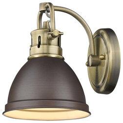 Traditional Bathroom Vanity Lighting by Golden Lighting