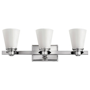 Avon Bathroom 3-Sconce Wall Light