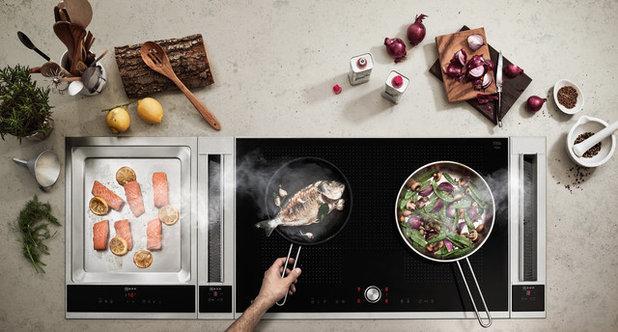 コンテンポラリー キッチン Cappa aspirante da piano Neff - EuroCucina 2016