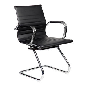 Techni Mobili Modern Visitor Office Chair, Black